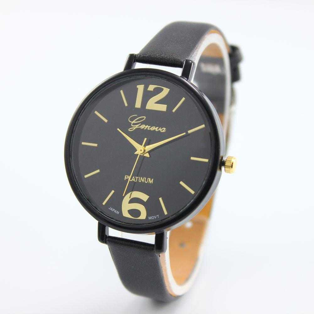Free New Fashion Geneva Leather WristWatch-Watch-Kirijewels.com-as show 2-Kirijewels.com