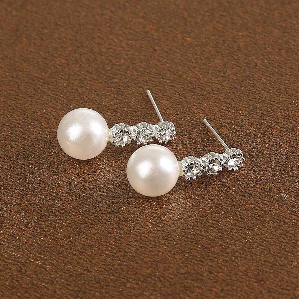 Free Noble Fashion Set Auger Pearl Earrings-earrings-Kirijewels.com-Kirijewels.com