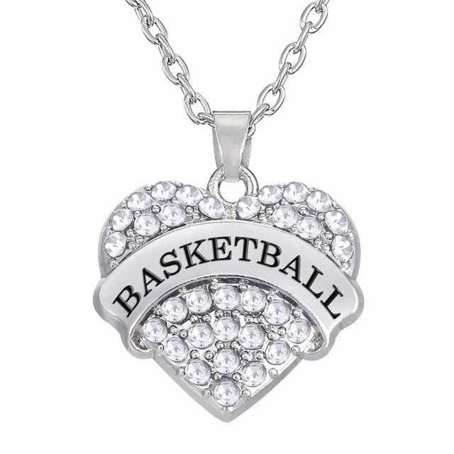 Basketball Necklace-Necklace-Kirijewels.com-White-Kirijewels.com