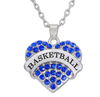 Basketball Necklace-Necklace-Kirijewels.com-Blue-Kirijewels.com