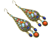Free New Elegant Drop Bohemian Crystal Big Earrings-earrings-Kirijewels.com-Multi-Kirijewels.com