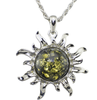 Sun Necklace-Necklace-Kirijewels.com-Yellow & Black-Kirijewels.com