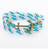 Free Rope Anchor Bracelet-Bracelet-Kirijewels.com-Blue White Brown-Kirijewels.com