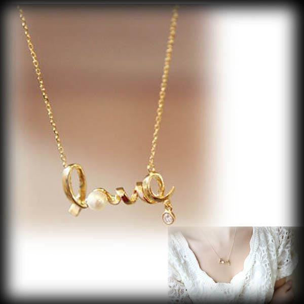 Free Heart Of Love Pendant Necklace-Necklace-Kirijewels.com-Gold-Kirijewels.com