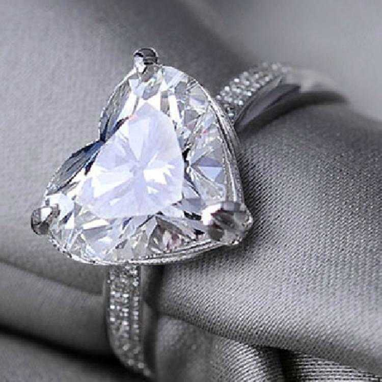 Diamond Crystal Heart Ring-Ring-Kirijewels.com-5-silver-Kirijewels.com