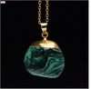Emerald Necklace-Necklace-Kirijewels.com-Gold & Green-Kirijewels.com