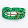 Free Rope Anchor Bracelet-Bracelet-Kirijewels.com-Green Brown-Kirijewels.com