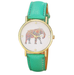 Elephant Watch-Watch-Kirijewels.com-Green-Kirijewels.com