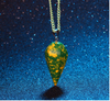 Free Crystal Healing Pyramid Necklace-Necklace-Kirijewels.com-Green-Kirijewels.com