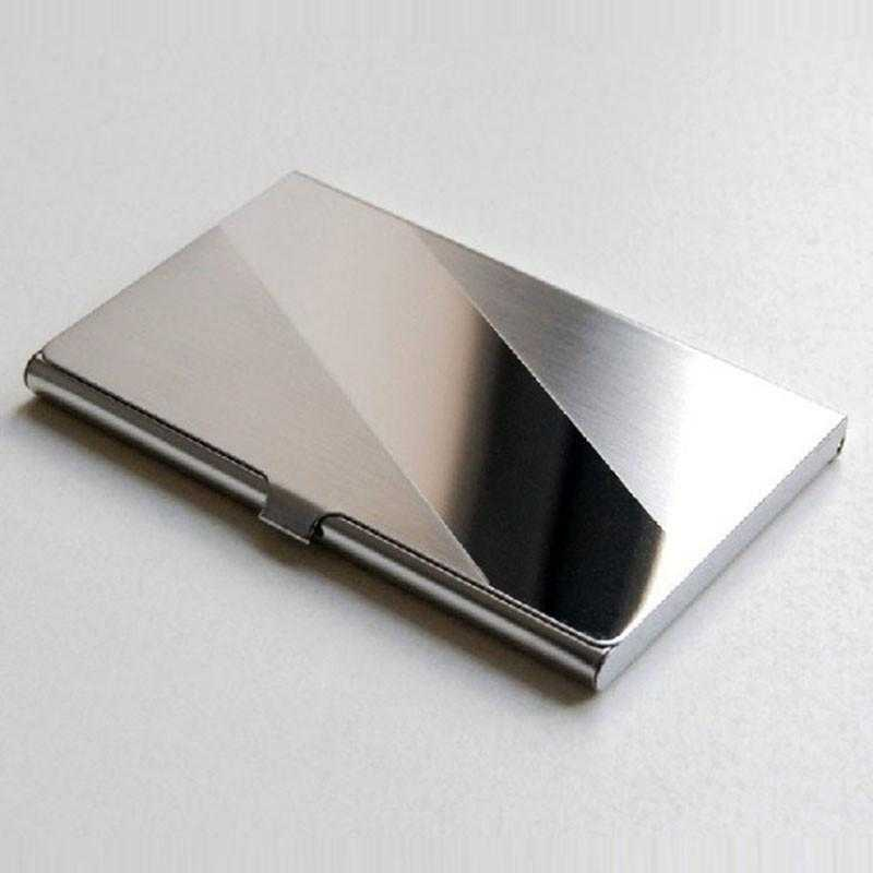 Stainless Steel Business Card Holder-Card Holder-Kirijewels.com-Kirijewels.com