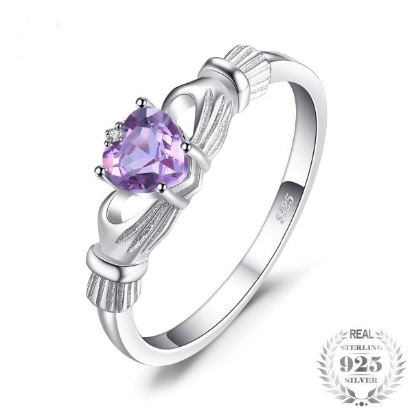 Alexandrite Sapphire Solid 925 Sterling Silver Ring