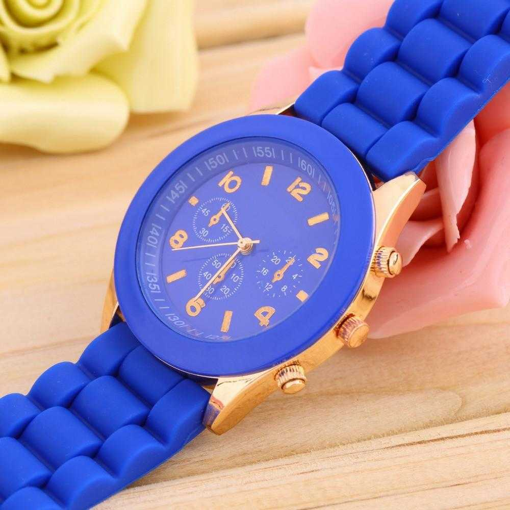 Silicone Jelly Wrist Watch-Watch-Kirijewels.com-Blue-Kirijewels.com