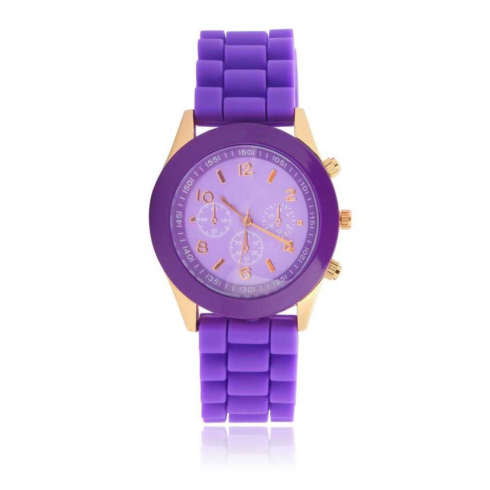 Free Silicone Jelly Wrist Watch-Watch-Kirijewels.com-Purple-Kirijewels.com