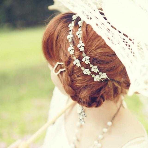 Free Leaf Headband-Hair Accessories-Kirijewels.com-Gold-Kirijewels.com