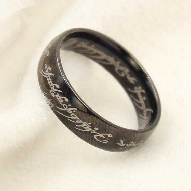 Lord Of The Ring-Rings-Kirijewels.com-6-Black Gun Plated-Kirijewels.com