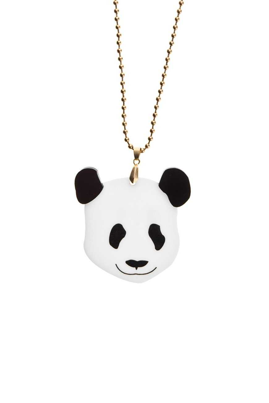 Giant Panda Necklace-Necklace-Kirijewels.com-Glow In The Dark-Kirijewels.com