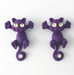 Cat Stud Earrings-earrings-Kirijewels.com-Purple-Kirijewels.com