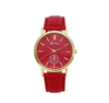 New Unisex Leather Band Analog WristWatch-Watch-Kirijewels.com-Red-Kirijewels.com