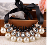 Free Simulated Pearl Necklace-Necklace-Kirijewels.com-White-Kirijewels.com