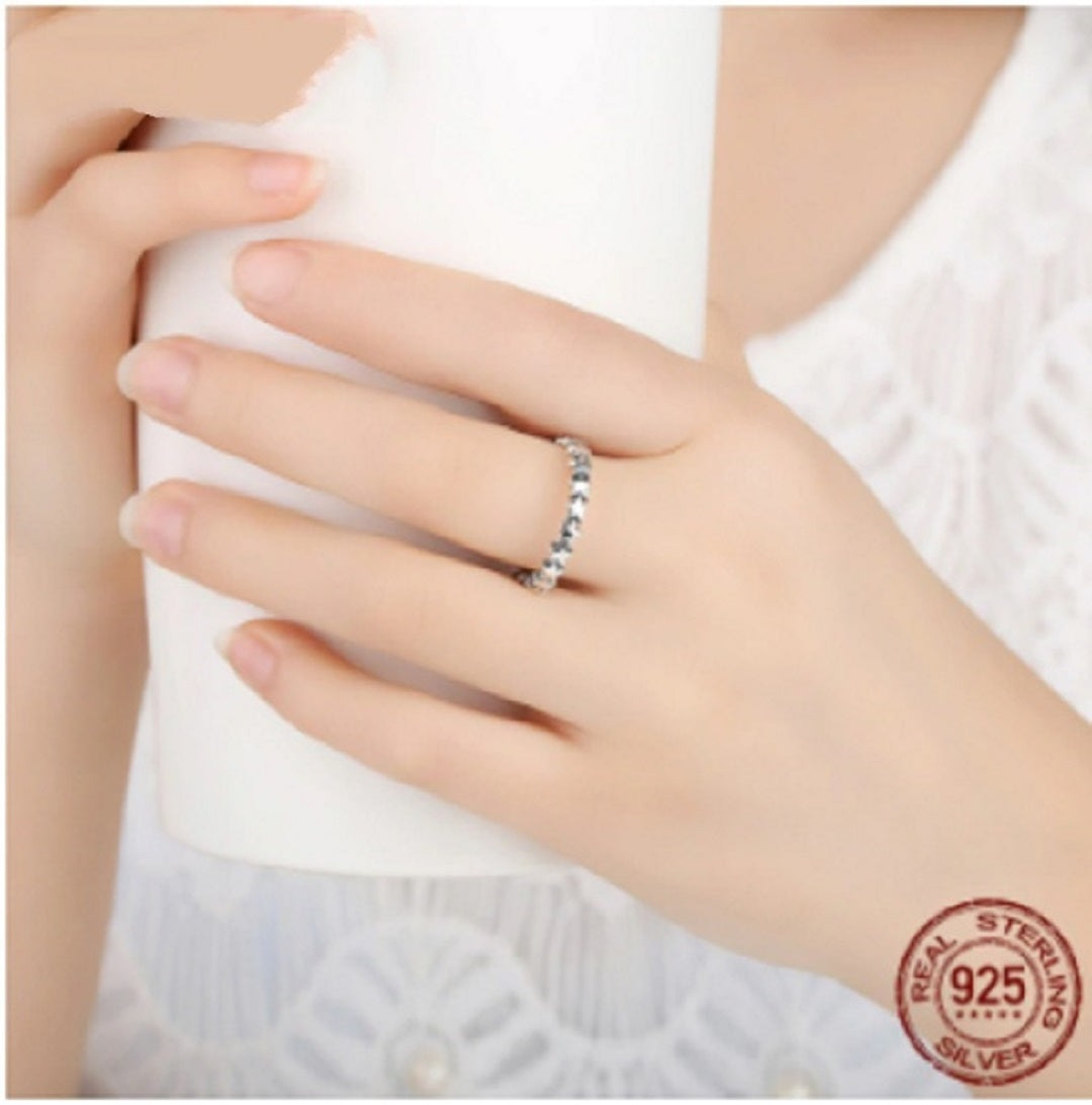 Authentic Stackable 925 Sterling Silver Ring