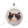 Free Cute Cat Necklace-Necklace-Kirijewels.com-2-Kirijewels.com