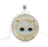 Free Cute Cat Necklace-Necklace-Kirijewels.com-3-Kirijewels.com
