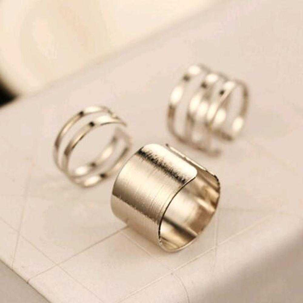 Free Top Of Finger Open Ring-Rings-Kirijewels.com-Silver-Kirijewels.com