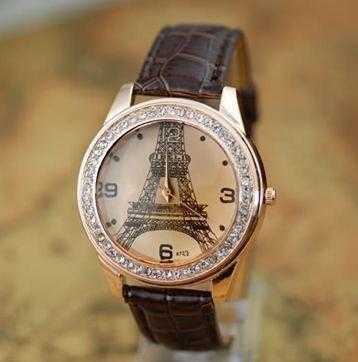 Free Paris Watch-Watch-Kirijewels.com-Black-Kirijewels.com