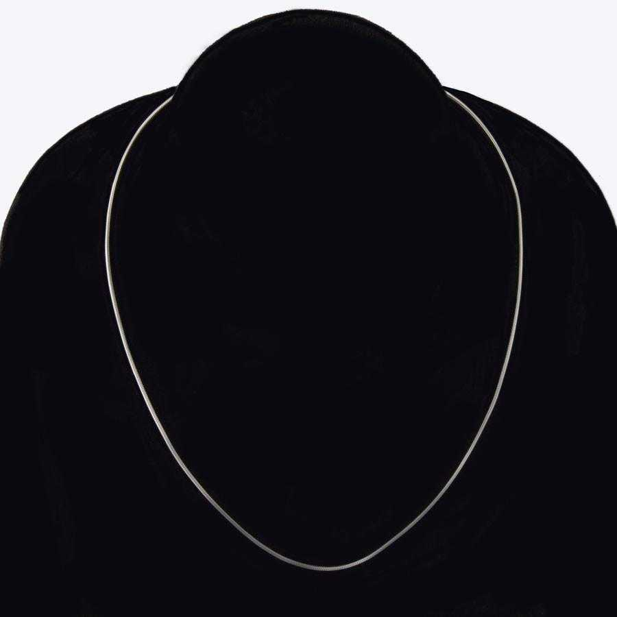 Free Sterling Silver Thin Water Wave Chain Necklace-Necklace-Kirijewels.com-20 Inch-Kirijewels.com
