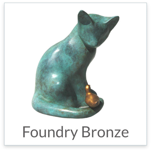 Foundry Bronze sculptures by Suzie Marsh