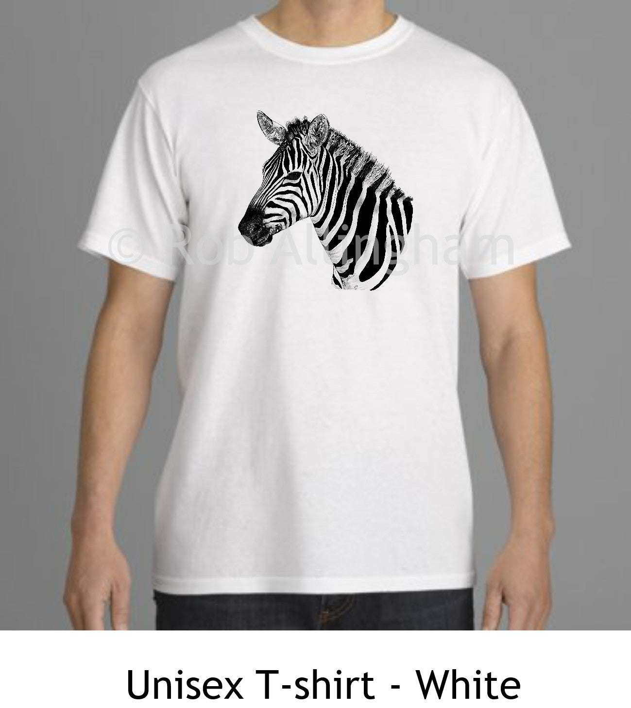 T Head Rob Shirtillustration Zebra By Living AllinghamProper WED2H9YIe