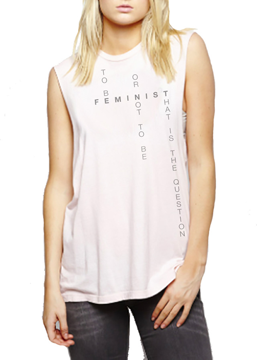 FEMINIST (Grey Font) - MIGHTEE