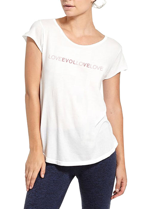 LOVE EVOLVE (Pink Font) - SPECIALTEE
