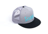 Logo Trucker Hat Grey/Black