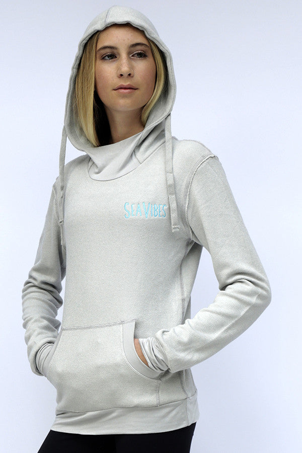Pull Overy Hoody Grey