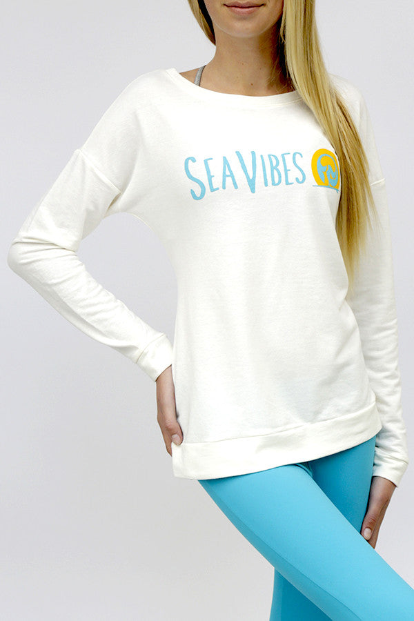 Miely Long Sleeve Ivory