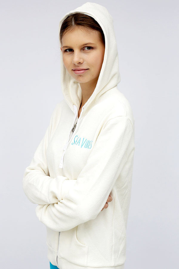 Zip Up Hoody Oatmeal
