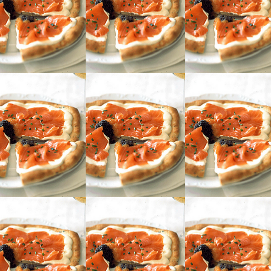 Smoked Salmon Pizza & Black Caviar Recipe : Wolfgang Puck