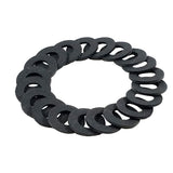 Coil Washer Black 3/8
