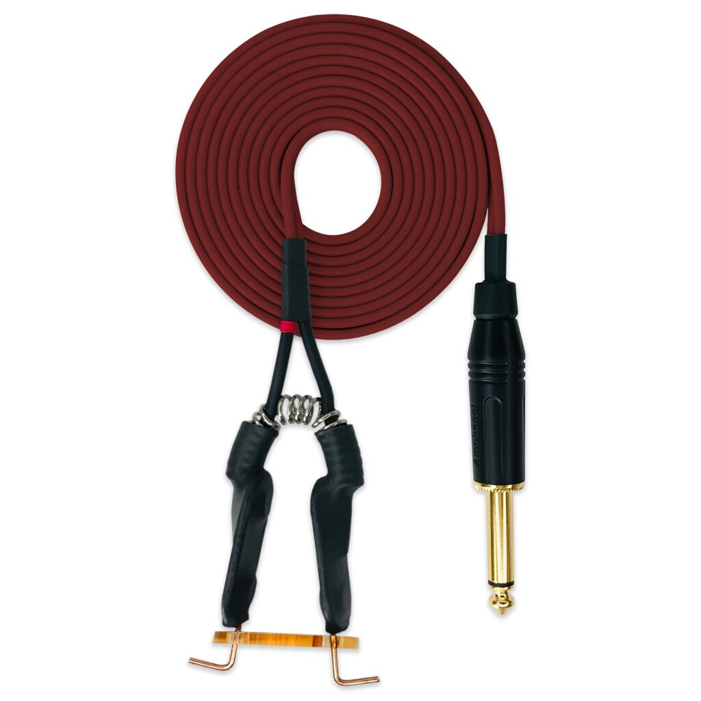 Traditional Clip Cord Maroon