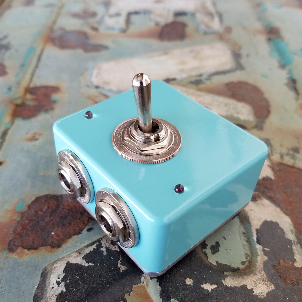 Seafoam Green Switch Box