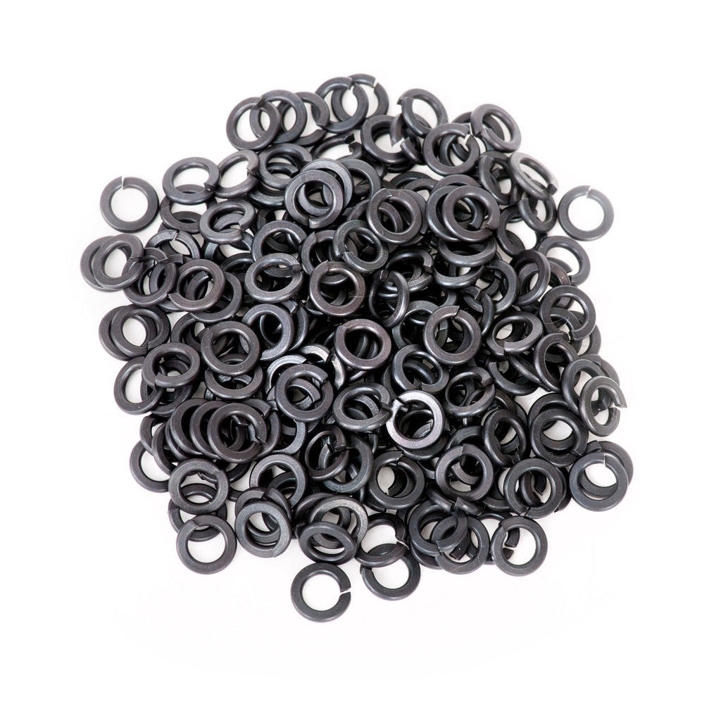#8 Split Lock Washer Black
