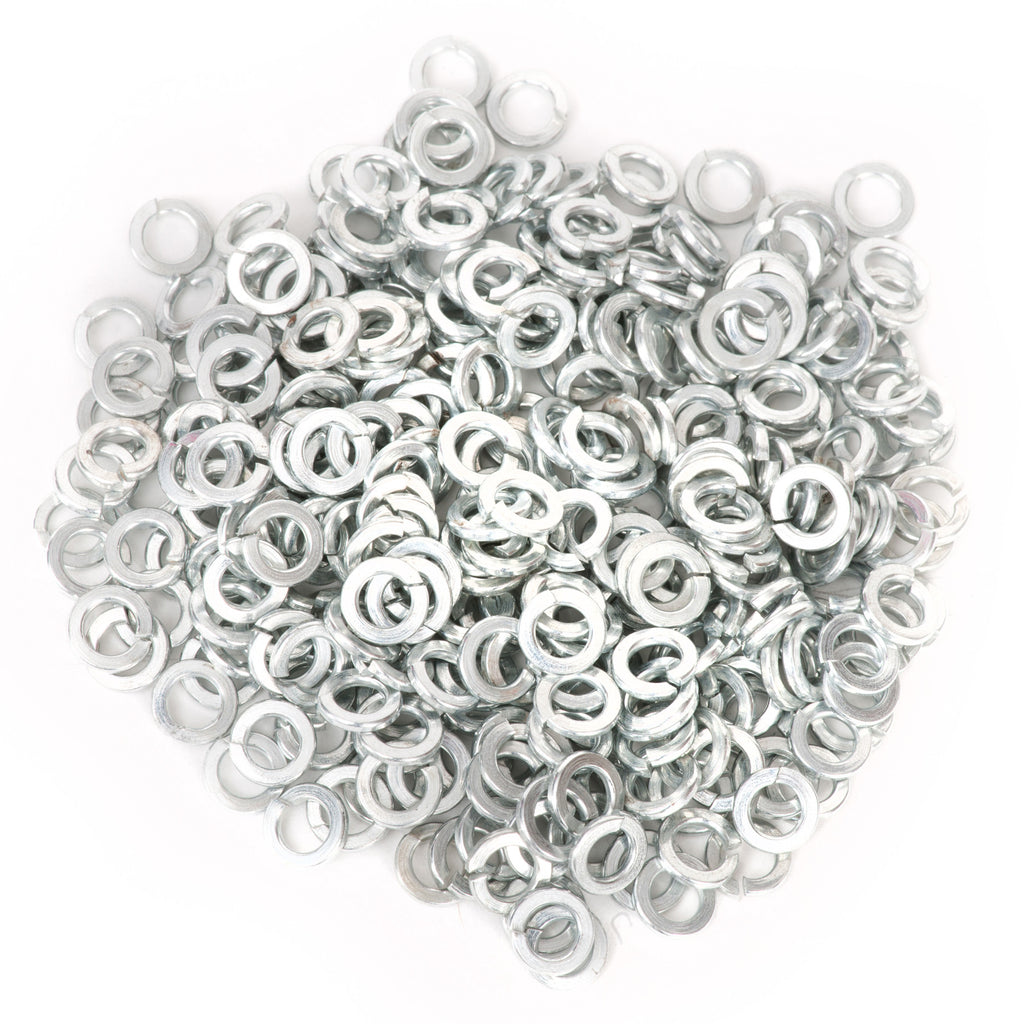 #8 Split Lock Washer Zinc