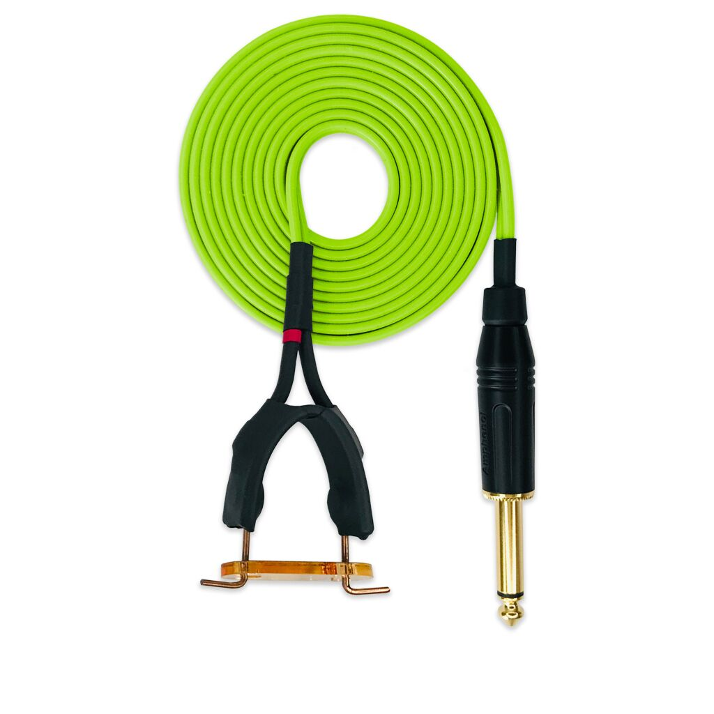Springless Clip Cord Lime Green