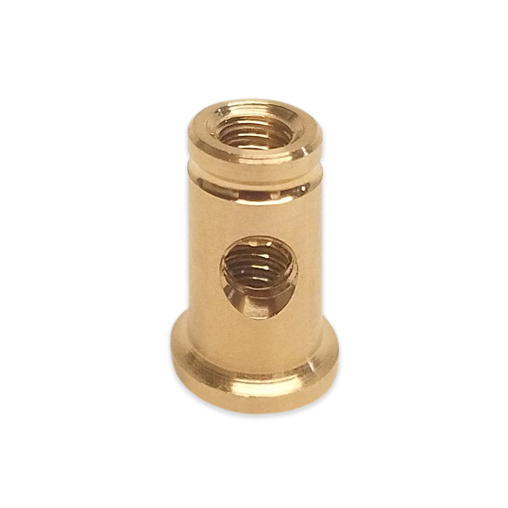 Compact Front Binding Post Brass