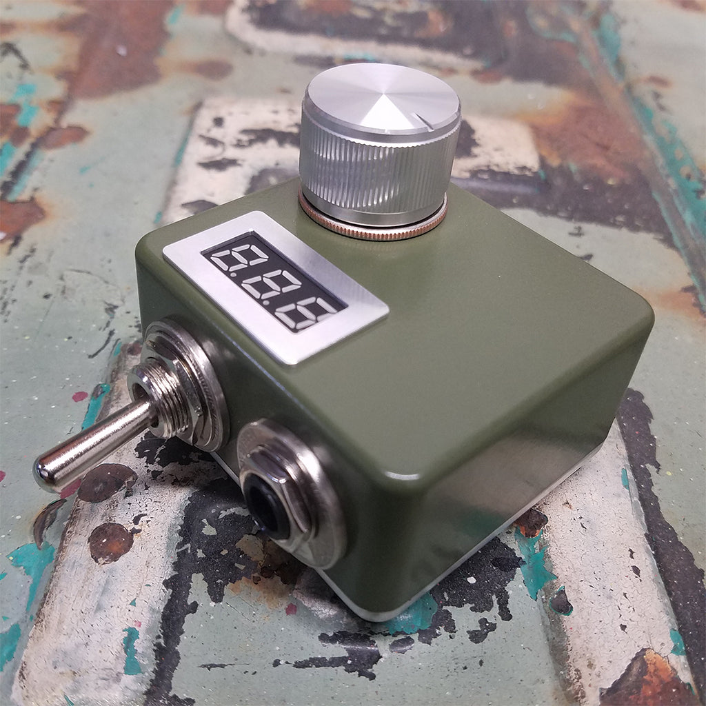 Army Green Digital 10 Turn Mini Power Supply