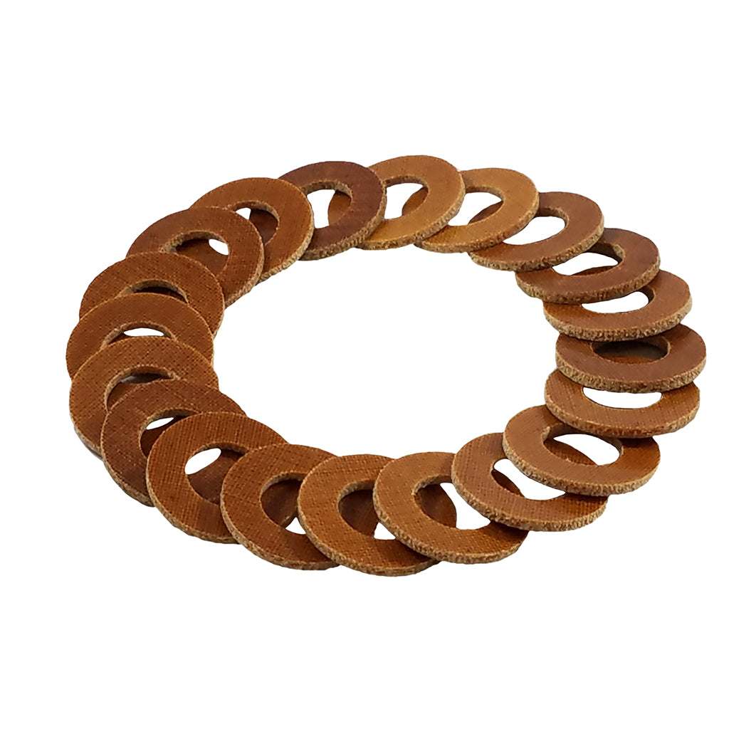 Light Phenolic Coil Washer 3/8