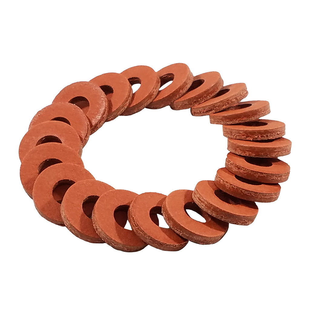 Thick Coil Washer Red 5/16