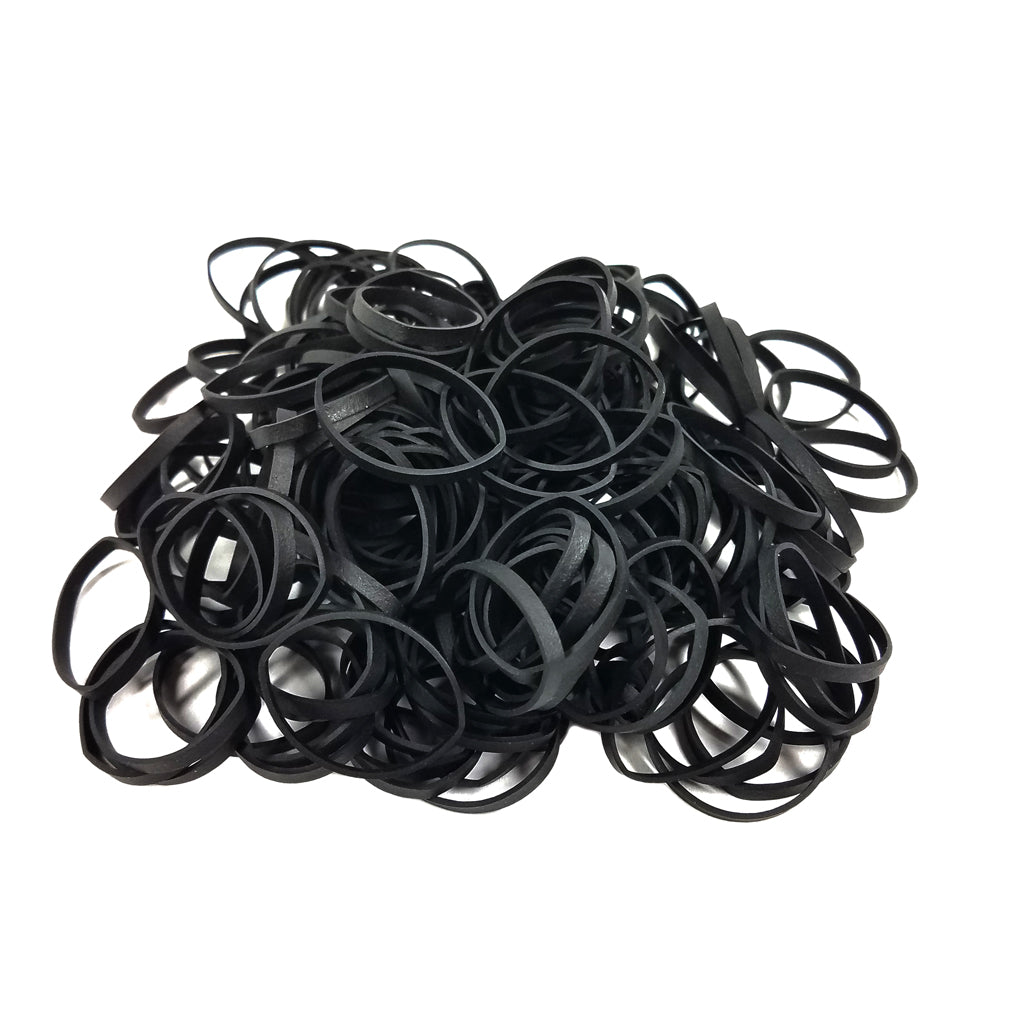 Premium Black Rubber Bands