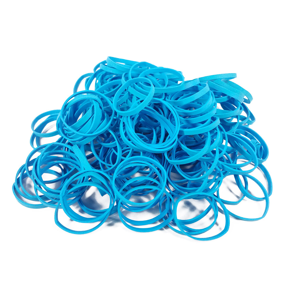 Premium Aqua Rubber Bands